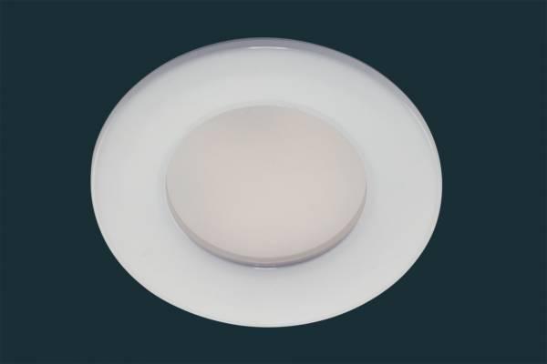 LED Einbaustrahler FLOOD IP44, rund, weiß