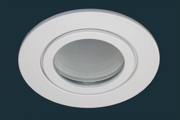 LED Einbaustrahler FLAT DIM IP44, weiß
