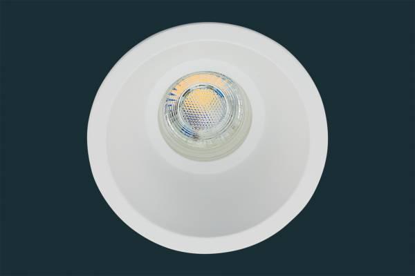 LED Einbaustrahler CONE DIM 38, blendfrei, weiß