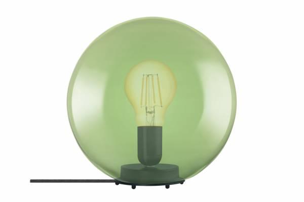 Tischlampe Glas 1906 Bubble, grün, inkl. Leuchtmittel