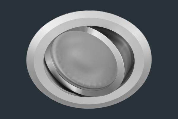 LED Einbauleuchte FLACH 12V, Aluminium