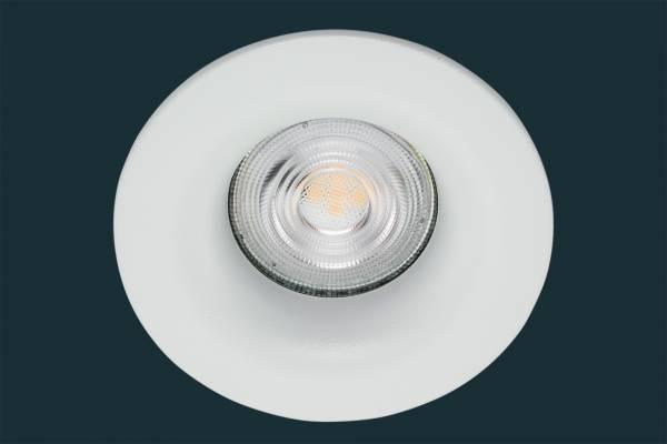 LED Einbaustrahler Osram Superstar CURVED, rund, weiß