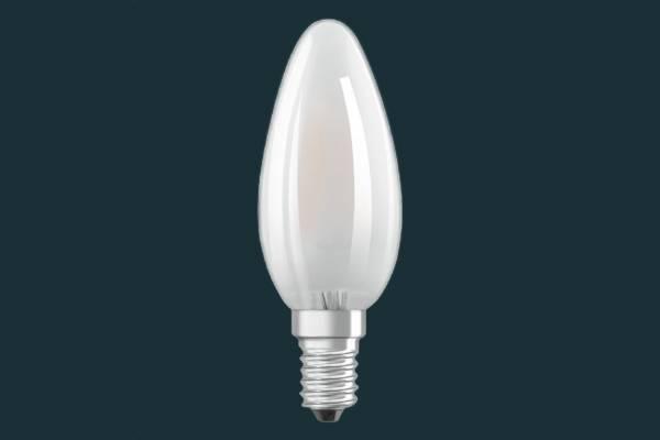 Osram LED Kerzenform E14, 2.5 W = 25 W, warmweiß