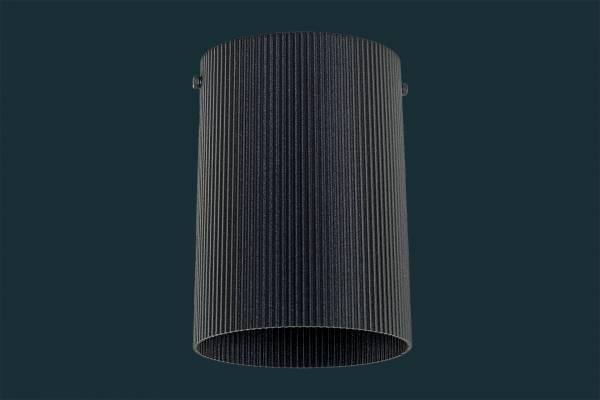 LED Aufbaustrahler CURVE, schwarz
