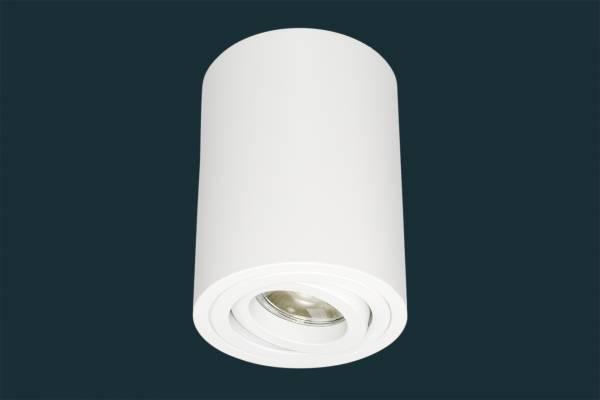 LED Aufbaustrahler 5W GU10 230 Volt, rund, weiß