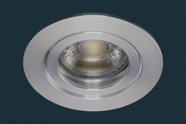LED Einbaustrahler SOLID ALU IP44, aluminium
