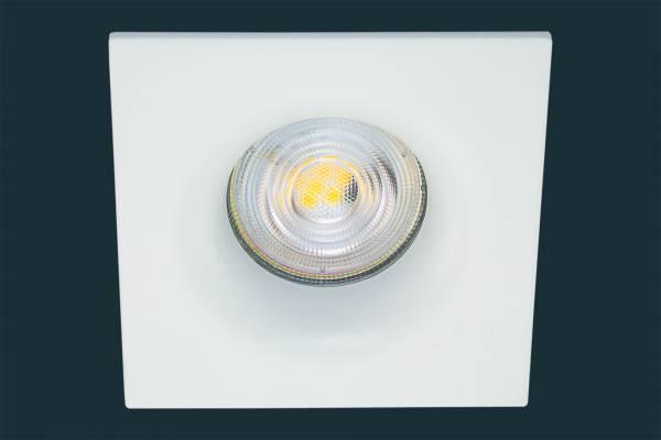 LED Einbaustrahler Osram Superstar CURVED, eckig, weiß
