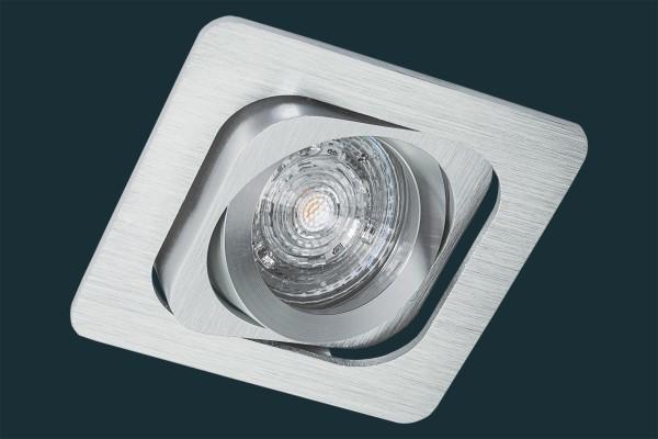 LED Einbaustrahler Osram GIMBAL - kardanisch, aluminium, eckig