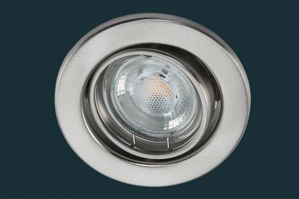 LED Einbaustrahler 5 Watt, matt chrom