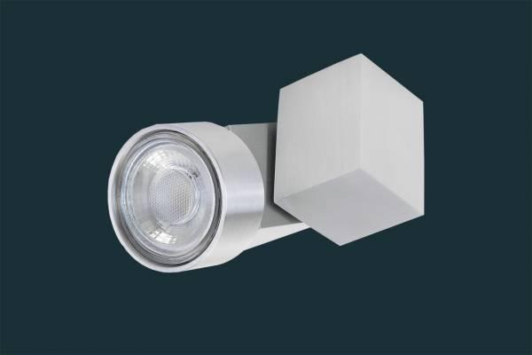 LED Deckenstrahler, dimmbar, SOLID ALU LEEDS