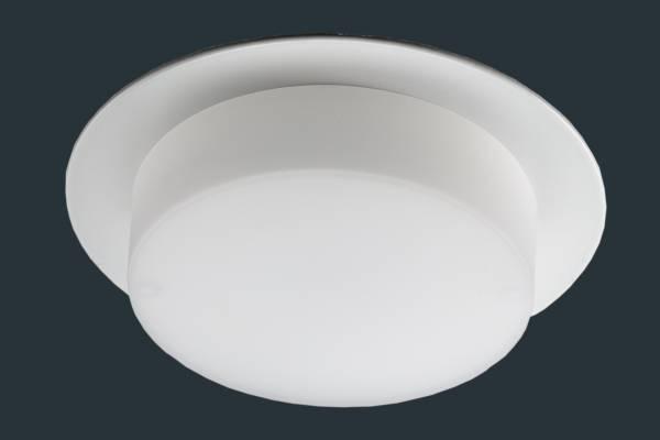LED Einbaustrahler SOFTLight flach, rund, weiß