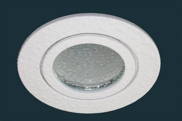 LED Einbaustrahler FLAT DIM IP44 120, weiß