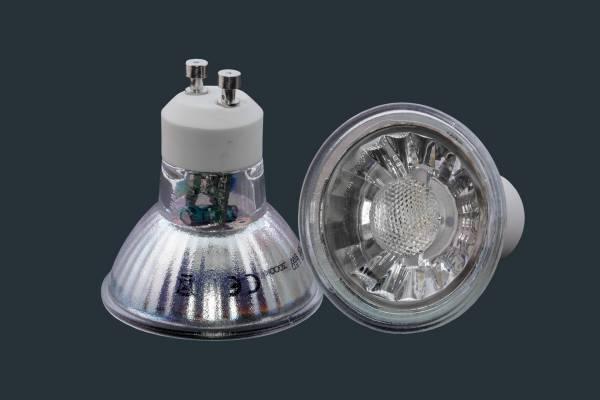 LED Reflektorlampe COB GU10 7 Watt, dimmbar
