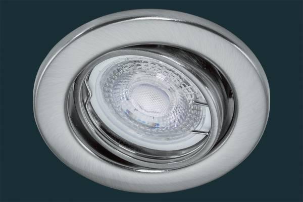 LED Einbaustrahler flach 5 Watt, MR50 38°