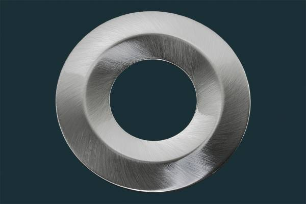 Twist & Lock Ring für JET Einbaustrahler - matt-chrom