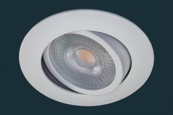 LED Einbaustrahler STEP DIM, weiß