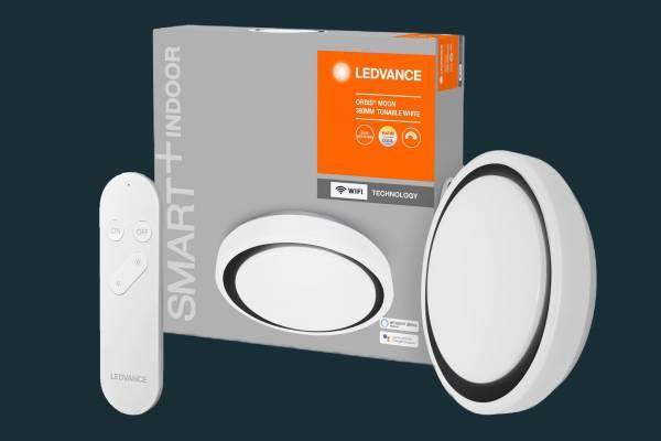 SmartHome Deckenleuchte MOON, mit SMART+ WiFi App & Fernbedienung