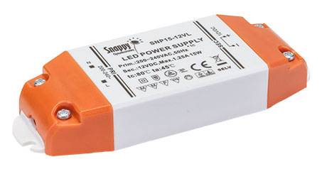 LED Trafo 12V 15 Watt Snappy SNP15-12VL